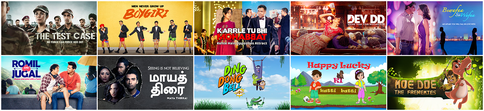 Watch original shows, kids exclusives and more on ALTBalaji